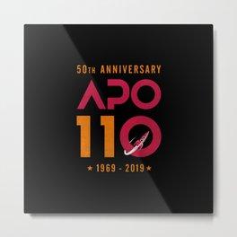 Apollo11 Moon Landing 50th Anniversary  Metal Print