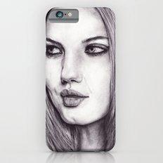 Cinder Fox iPhone 6s Slim Case