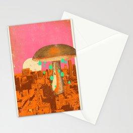 MUSHROOM CITY Stationery Cards