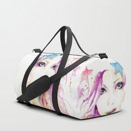 Galaxy Woman Duffle Bag