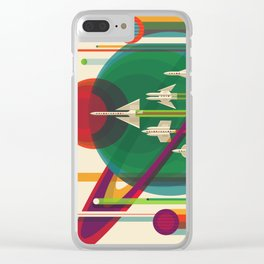 The Grand Tour Retro Poster Clear iPhone Case