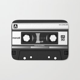 Compact cassette | 90's | 90's music | Cassette tape | Punk Bath Mat