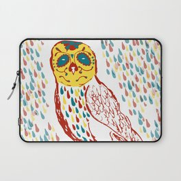 Sugar Skull Owl Laptop Sleeve