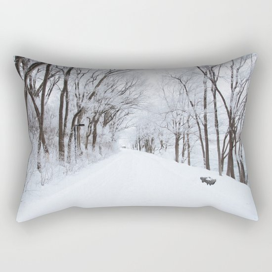Winter Memories Rectangular Pillow