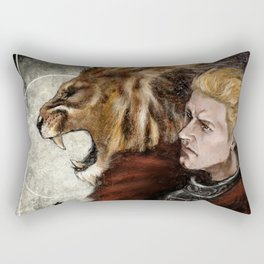 Dragon Age Inquisition - Cullen - Fortitude Rectangular Pillow