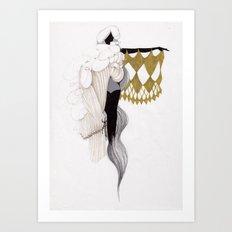 SHAMAN WOMEN Art Print