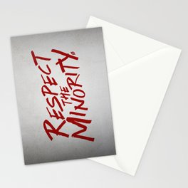 Respect! Stationery Cards