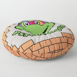 Psychelangelo - The Lost Ninja Turtle Floor Pillow