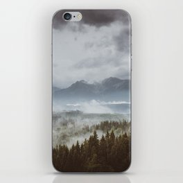 Misty mountains - Landscape and Nature Photography iPhone Skin