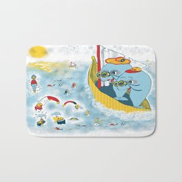 Look, honey!...the humans are migrating again!!! Bath Mat