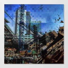 Montreal urbania Canvas Print