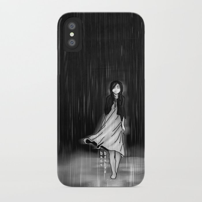 ... as the rain fell on me iPhone Case