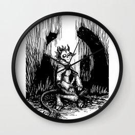 Silent Night Horror Wall Clock