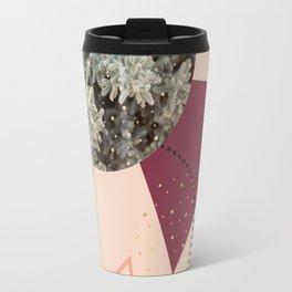 Golden Snow #society6 #decor #pink Travel Mug