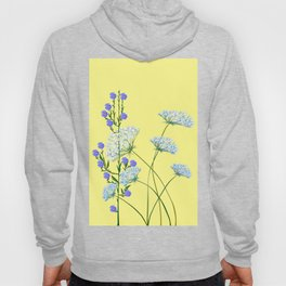 My Kentucky Wild Flowers, Queen Anne Lace and Flax Hoody
