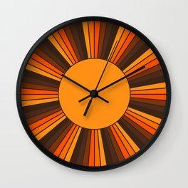 Golden Sunshine State Wall Clock