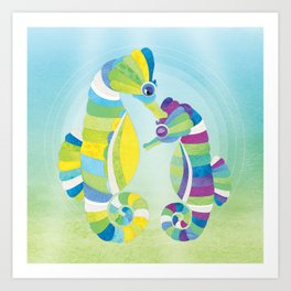 Shanti Sparrow: Philly and Gill Art Print