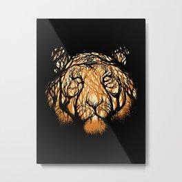 Hidden Hunter Metal Print