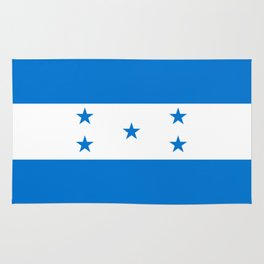 Honduras Flag Rug