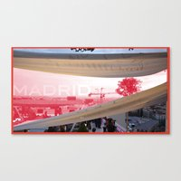 madrid Canvas Prints featuring Madrid by jacky_f