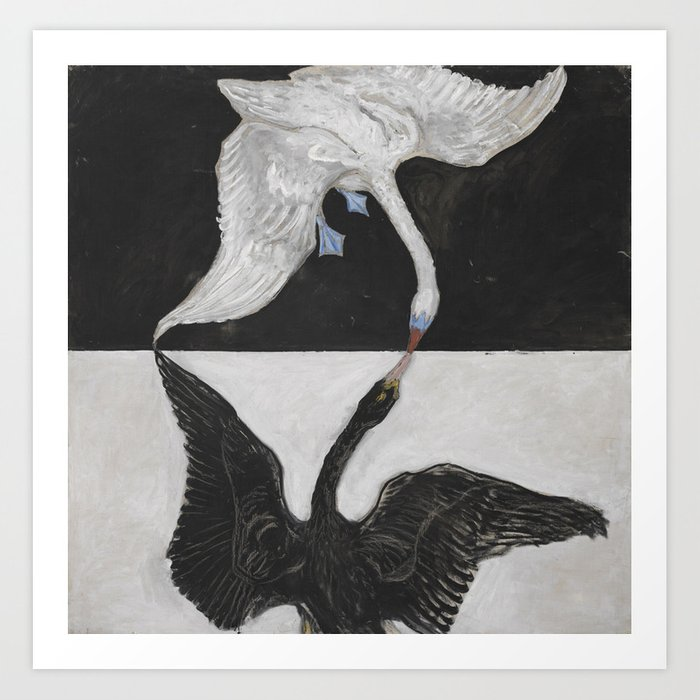 Hilma Af Klint The Swan No. 1 Kunstdrucke