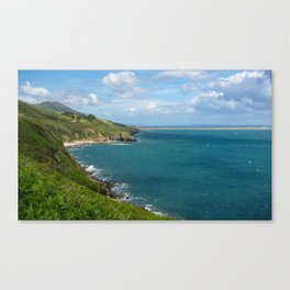 Dingle Blue Canvas Print