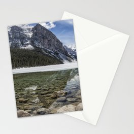 Lake Louise, Mid May, Mid Day Stationery Cards