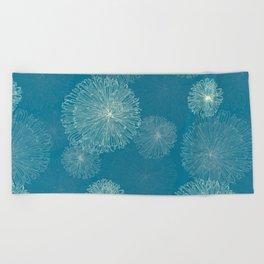 Spider Chrysanthemums Beach Towel