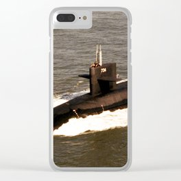 USS TENNESSEE (SSBN-734) Clear iPhone Case