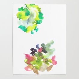 180802 Beautiful Rejection  2 | Colorful Abstract Poster