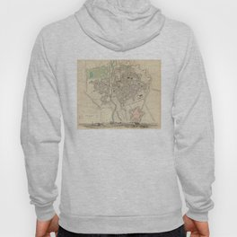 Vintage Map of Parma Italy (1840) Hoody