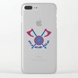 Iceland Strákarnir okkar (Our Boys) ~Group D~ Clear iPhone Case