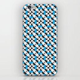 Blue Vertigo iPhone Skin