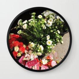Fleurs de Paris Wall Clock
