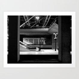 The Station Art Print