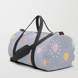 balloon pattern Duffle Bag