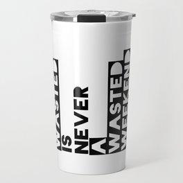 A Weekend Water (Black) Travel Mug
