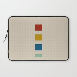 four elements || tweed & primary colors Laptop Sleeve