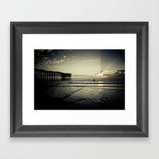 One More Wave Framed Art Print