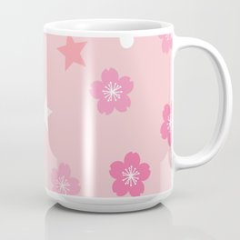 Stars 'n Sakura Blossoms Coffee Mug
