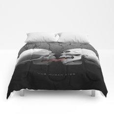 The Human Kiss Skull Comforters