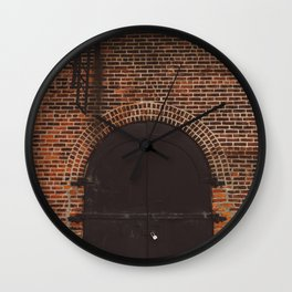 Brooklyn Door III Wall Clock