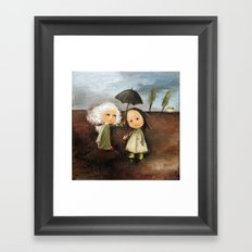 Where Are You There Me Framed Art Print