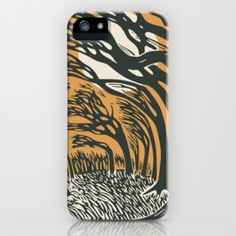 The runaway hare iPhone Case