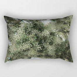 blooming trees Rectangular Pillow