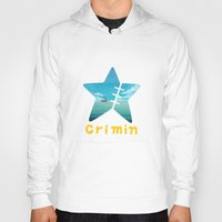 one piece Hoodies featuring One Piece Crimin by POP42