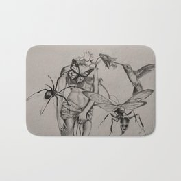 Lady Of The Spring Bath Mat