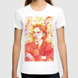 ROBERT LOUIS STEVENSON - watercolor portrait.2 T-shirt