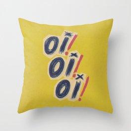 Oi! Oi! Oi! Throw Pillow