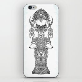 Indian Totem iPhone Skin
